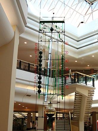 Bernard Gitton - Clock at the Iguatemi Mall in Porto Alegre, Brazil.