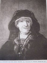 Rembrandt or follower - Portrait of an Old Woman.jpg
