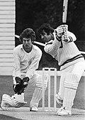 Rene Schoonheim and Haroon Rashid 1978.jpg