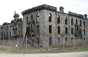 Smallpox Hospital - The Smallpox Hospital in 2006