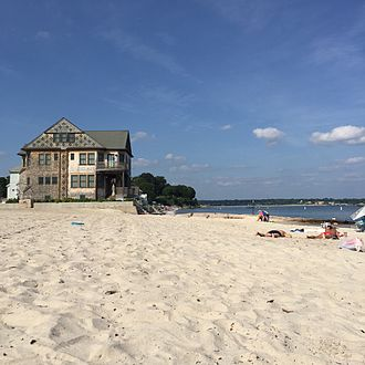 Niantic, Connecticut - Residential House on Crescent Beach in Niantic, CT