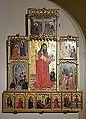Retaule de sant Lluc, mestre de sant Lluc, museu catedralici de Sogorb.JPG
