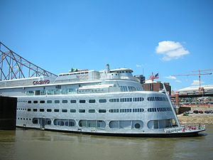 SS Admiral - Image: Retired Admiral casino ship