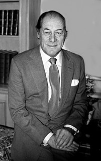 Rex Harrison English film and stage actor