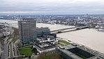 Rheinhochwasser 2018 in Köln KölnTriangel 10.jpg