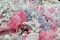 Rhodocrosite, fluorine, quartz, pyrite, calcite (Wuzhou Prefecture, Guangxi Zhuang Autonomous Region - China) 1.jpg