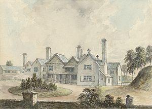 Rhug - Rhug manor house, c.1778