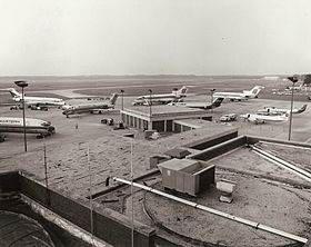 L'aéroport en 1984.