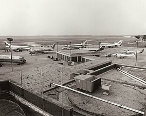 Richmond International Airport - Richmond airport in 1984. Then it was the 4th-largest airport in Virginia.