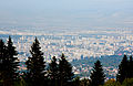 Ride with Simeonovo Cablecar to Aleko, view to Sofia 2012 PD 028.jpg