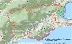 Pontal (Rio de Janeiro) - 2016 Olympic Cycling - Vista Chinesa Circuit