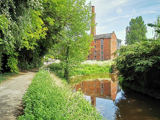 River Roden and Wem Milll