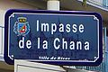 Rives -Plaque de rue - Impasse de la Chana - 20131102 123007.jpg