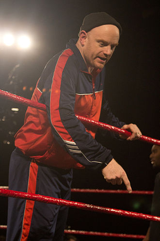 Bob Evans (wrestler) - Evans in the ring in 2012