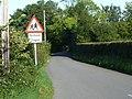 Road to the school, Mynydd-bach, Shirenewton - geograph.org.uk - 2061361.jpg