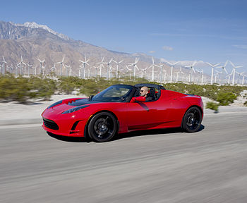 English: Tesla Roadster Sport 2.5, the fourth-...