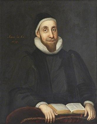 Robert Burton (scholar) - Portrait by Gilbert Jackson