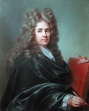 Robert de Cotte - Robert de Cotte, 1701, oil on canvas by Joseph Vivien