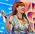 Robin Hunicke at the 2018 GDC Awards (26085940797).jpg