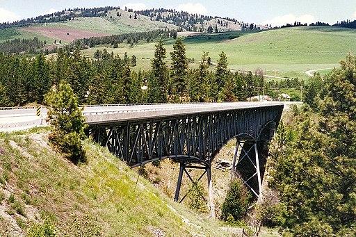 Rock Creek Canyon Bridge, British Columbia