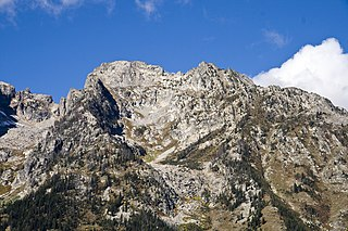 Rockchuck Peak mountain in United States of America