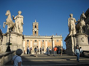 Horse Tamers - Image: Roma cordonata 01