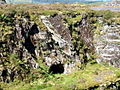Rosebush quarry, exploring the adits-1 - geograph.org.uk - 512103.jpg