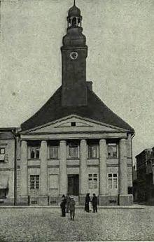 rathaus olesno � wikipedia