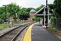 Roslindale Village station facing west, May 2012.JPG