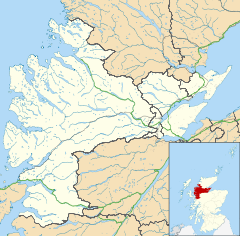 Artafallie is located in Ross and Cromarty