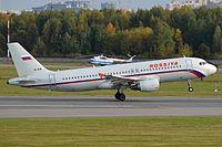 VQ-BFM - A320 - Rossiya