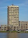 foto van GEB-gebouw Rotterdam