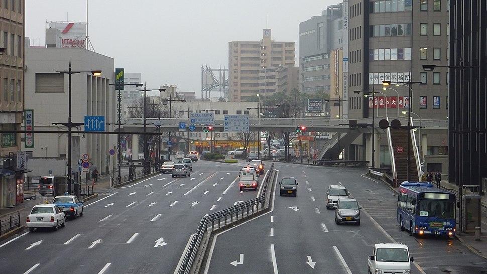 Downtown Shimonoseki