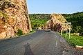 Route dans la chaine de l'atacora à Tanguiéta.jpg