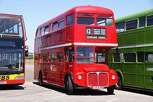 Routemaster RML2539 (JJD 539D), 2010 North Weald bus rally.jpg