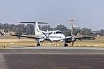 Royal Australian Air Force (A32-339) Beech King Air 350 taxiing at Wagga Wagga Airport.jpg