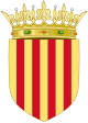 Royal arms of Aragon (Crowned).svg