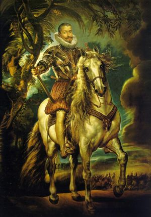 Equestrian Portrait of the Duke of Lerma, 1603...