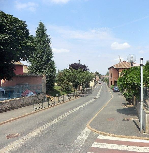 Rue de Misérieux.