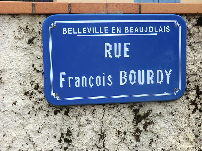 Rue françois-Bourdy (Belleville).