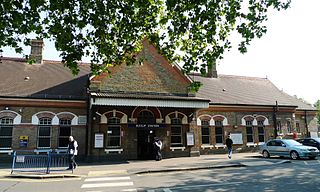 Ruislip tube station London Underground station