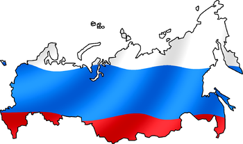RussianFlagsMap