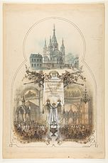Rusa ortodoksa Katedralo, Pariza 19-a centuri.jpg