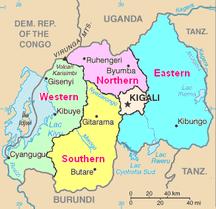 Rwanda-Administrative divisions-RwandaGeoProvinces
