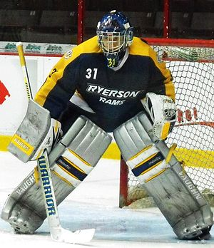 Ryerson Rams - Rams' Troy Passingham during 2013-14 season.