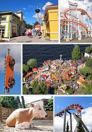 Särkänniemi - Image: Särkänniemi collage