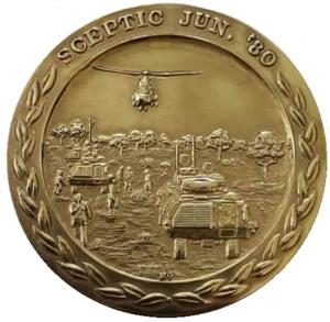 Operation Sceptic - SADF Operation Sceptic Commemorative medallion