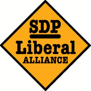 SDP–Liberal Alliance Electoral alliance in the United Kingdom