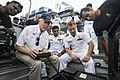 SECNAV operate a SeaBotix remotely operated vehicle during Sri Lanka HMA 2016. (29202491285).jpg