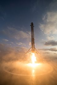 SES-10 Mission - Falcon 9 First Stage Landing (32996438264).jpg